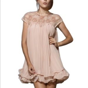 Spool72  Made With Love Hallie Dress in Blush S/M